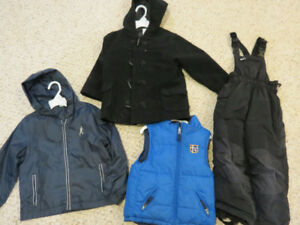 Boys lot of Fall/Winter coats - Size 4