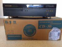 Marantz CD-50 SE separates CD player