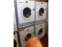 (6.5-8.5kg) integrated New washing machine *BUILT IN* 1200 A+++warranty included excellent GRADE A