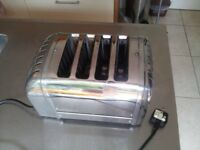Dualit 4 Slice Toaster with Chrome Finish