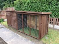 Dog kennel / run 11.5ft
