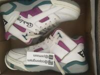 Patrick Ewing Grape Mid Tops Size 8