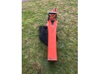 Flymo leaf blower, collector / suction
