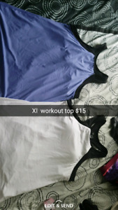 Xl work out pants and tops!