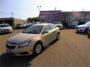 2011 CHEVROLET CRUZE LT LOW PRICE EASY FINANCING AVAILABLE