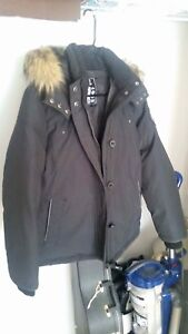 Down filled winter coat