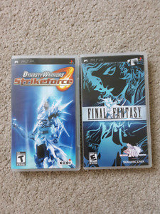 Selling PSP games
