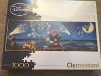 Brand New Disney Panorama 1000 Piece Puzzle
