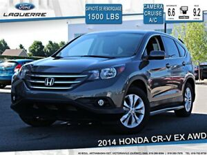 2014 Honda CR-V EX**AWD*CAMERA*CRUISE *A/C 2 ZONES**