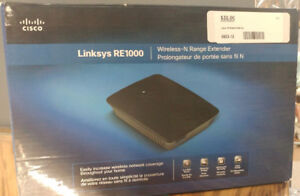 Linksys RE1000 Wireless Range Extender