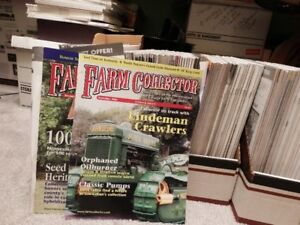 Lot of Farm Collector Magazines