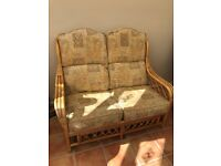 Daro cane furniture set, conservatory chairs great condition,