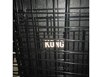 large dog crate by kong- excellent condition and quality