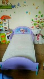 Frozen todler bed