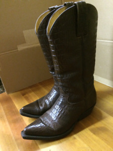 bottes western FRONTIER gr. 7.5 homme