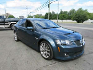 G8 GT (GXP) SuperCharged 650 + HP