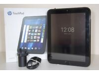 "HP TouchPad – Android 7 Nougat (dual boot) 9.7"" Tablet Gloss Black"