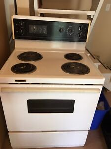 Electric coil top stove