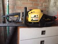 petrol hedge trimmers, petrol lawnmower, chainsaw. need cleaning but were working when last used.