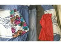 maternity bundle clothes and support belt