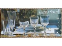 Crystal d'Arques glass flutes