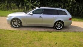 BMW 525 d diesel estate touring 6 speed automatic