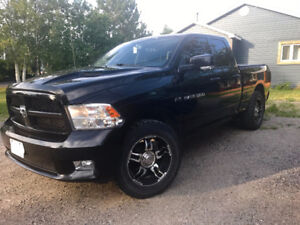 2012 Ram 1500 Sport Quad Cab- TONS OF EXTRAS ON THIS TRUCK