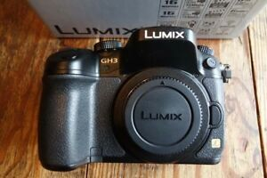 Panasonic GH3, panasonic GH2 body, both with charger, battery