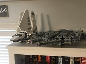 Lego Star Wars 75105 and 75094