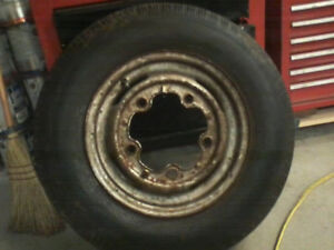 Original vw beetle wheel