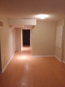Walkout basement available from Aug 1