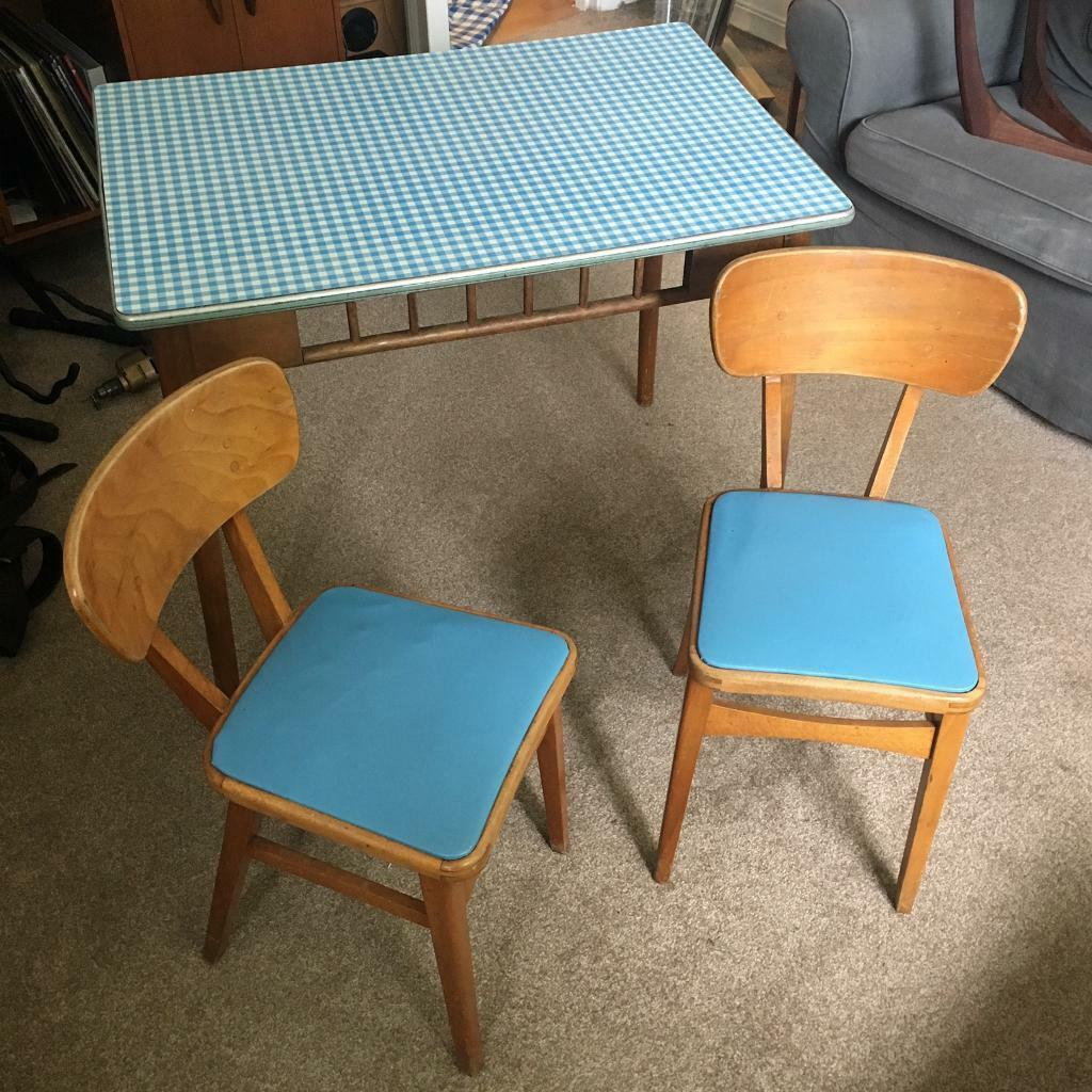 Vintage 1950s kitchen Table & Chairs | in Hornsey, London | Gumtree