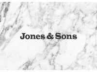 CDP needed at Jones & Sons, Hackney