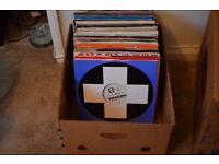 "JOB LOT 500 - 12"" Vinyl Singles from the 90s"
