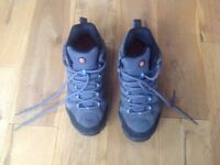 Size 4.5 Ladies Merrell hiking boots ,further reduced to £40