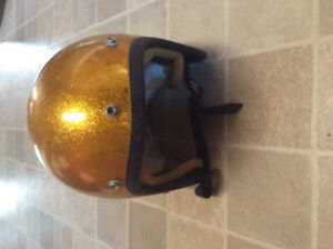 Vintage retro motorcycle helmet for sale