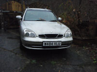 DAEWOO NUMBIRA 2 LTR MANUAL PETROL SPARES ONLY NO MOT