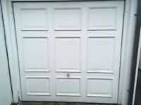 Garage Door - white