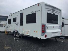 6-8 Berth Elddis Crusader Superstorm Twin Axle - Mint - Tricam Caravans on A1 at Dromore Co Down
