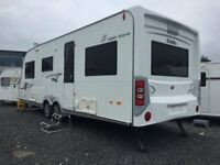 6-8 Berth Elddis Crusader Superstorm Twin Axle - Mint - Tricam Caravans on A1 at Dromore Co Down