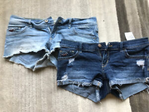 Size 3 Hollister Shorts (Womens)