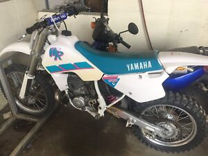 HOLY GRAIL OF YAMAHA 1993 YZ WR 500 2 STROKE 100% untouched