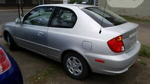 2004 Hyundai Accent GS MANUAL