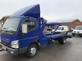 MITSUBISHI CANTER FUSO DOUBLE DECKER RECOVERY TRUCK, 2010REG, LEZ, FOR SALE