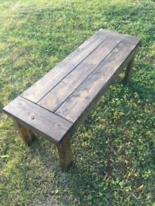 Harvest Table BENCH - Brand New!
