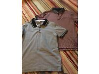 Boys polo shirts m&s aged 9/10 great condition