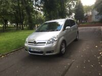2007 TOYOTA COROLLA VERSO TR VVT-I 1.8 PETROL 7 SEATER **FULL MOT + GREAT FAMILY MPV + DRIVES GOOD**