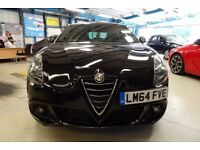 Alfa Romeo Giulietta JTDM-2 QV LINE [1 OWNER / NAV / DAB / LEATHER] (etna black metallic) 2014