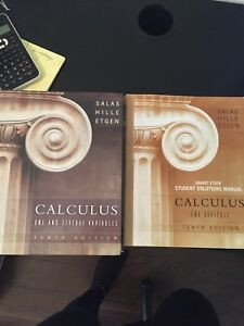 Calculus one and several variables with solutions manual