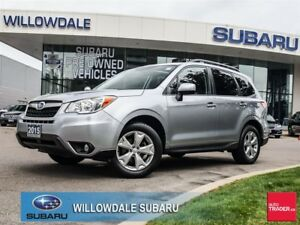2015 Subaru Forester 2.5i Touring Pkg No Accidents, Off Lease